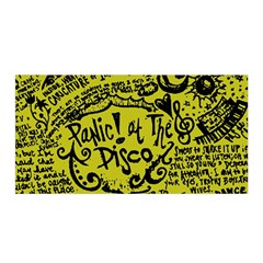 Panic! At The Disco Lyric Quotes Satin Wrap by Samandel