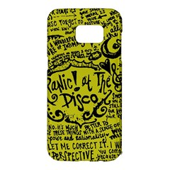 Panic! At The Disco Lyric Quotes Samsung Galaxy S7 Edge Hardshell Case