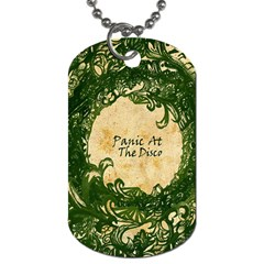 Panic At The Disco Dog Tag (two Sides) by Samandel