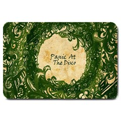 Panic At The Disco Large Doormat  by Samandel