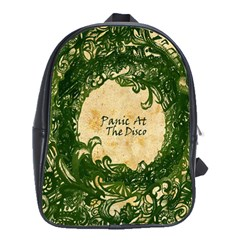 Panic At The Disco School Bag (large) by Samandel