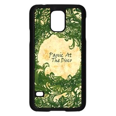 Panic At The Disco Samsung Galaxy S5 Case (black) by Samandel