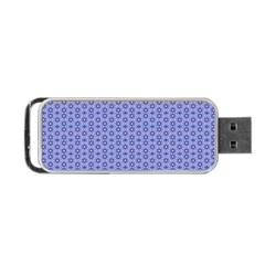Delicate Tiles Portable Usb Flash (two Sides)