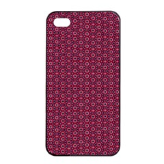 Ethnic Delicate Tiles Apple Iphone 4/4s Seamless Case (black) by jumpercat