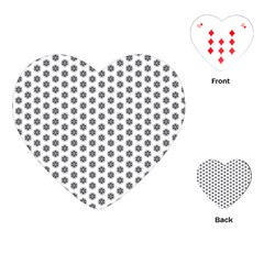 Abstract Pattern Playing Cards (heart)  by jumpercat