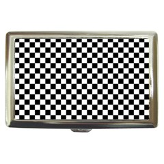 Checker Black And White Cigarette Money Cases by jumpercat