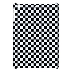 Checker Black And White Apple Ipad Mini Hardshell Case by jumpercat
