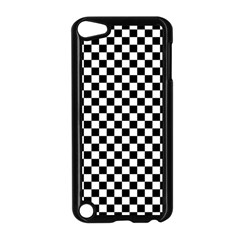 Checker Black And White Apple Ipod Touch 5 Case (black) by jumpercat