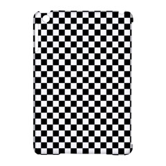 Checker Black And White Apple Ipad Mini Hardshell Case (compatible With Smart Cover) by jumpercat