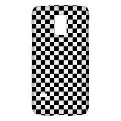 Checker Black And White Galaxy S5 Mini by jumpercat