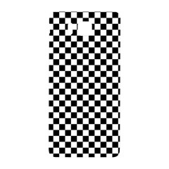 Checker Black And White Samsung Galaxy Alpha Hardshell Back Case by jumpercat
