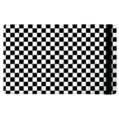 Checker Black And White Apple Ipad Pro 9 7   Flip Case by jumpercat