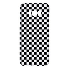 Checker Black And White Samsung Galaxy S8 Plus Hardshell Case  by jumpercat