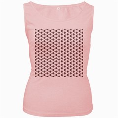 Abstract Pattern 2 Women s Pink Tank Top