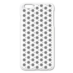 Abstract Pattern 2 Apple Iphone 6 Plus/6s Plus Enamel White Case by jumpercat