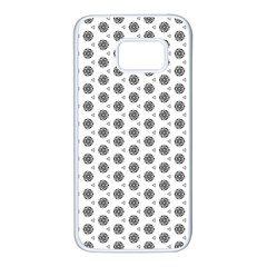 Abstract Pattern 2 Samsung Galaxy S7 White Seamless Case by jumpercat