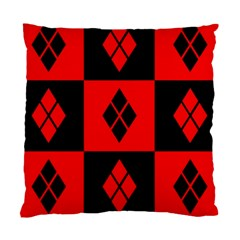 Harley Quinn Pattern Standard Cushion Case (two Sides)