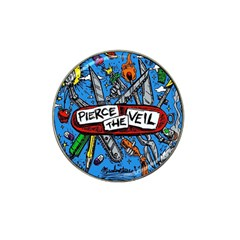 Album Cover Pierce The Veil Misadventures Hat Clip Ball Marker (10 Pack) by Samandel
