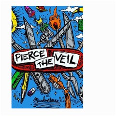 Album Cover Pierce The Veil Misadventures Large Garden Flag (two Sides) by Samandel
