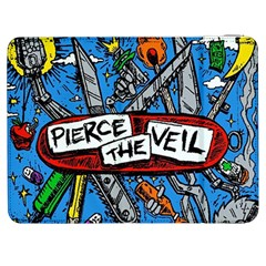 Album Cover Pierce The Veil Misadventures Samsung Galaxy Tab 7  P1000 Flip Case by Samandel