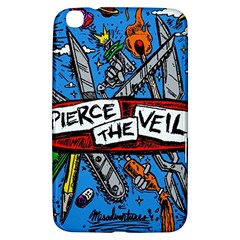 Album Cover Pierce The Veil Misadventures Samsung Galaxy Tab 3 (8 ) T3100 Hardshell Case  by Samandel