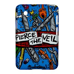 Album Cover Pierce The Veil Misadventures Samsung Galaxy Tab 2 (7 ) P3100 Hardshell Case  by Samandel