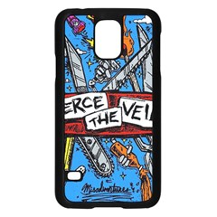 Album Cover Pierce The Veil Misadventures Samsung Galaxy S5 Case (black) by Samandel