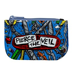 Album Cover Pierce The Veil Misadventures Large Coin Purse