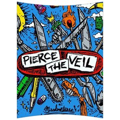 Album Cover Pierce The Veil Misadventures Back Support Cushion
