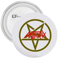 Anthrax Band Logo 3  Buttons by Samandel