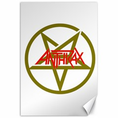 Anthrax Band Logo Canvas 20  X 30