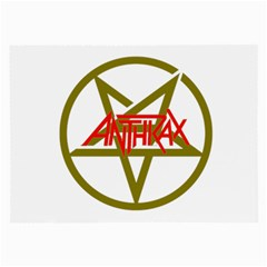 Anthrax Band Logo Large Glasses Cloth (2 Side)