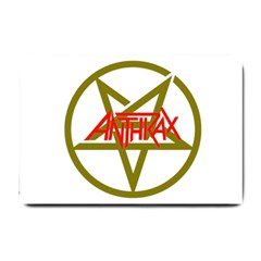 Anthrax Band Logo Small Doormat