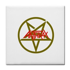 Anthrax Band Logo Face Towel by Samandel
