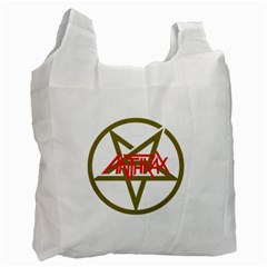 Anthrax Band Logo Recycle Bag (one Side) by Samandel
