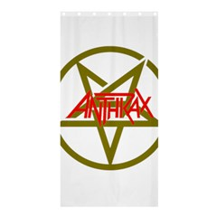 Anthrax Band Logo Shower Curtain 36  X 72  (stall)