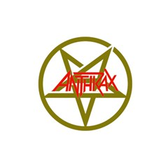 Anthrax Band Logo Shower Curtain 48  X 72  (small)  by Samandel