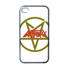 Anthrax Band Logo Apple Iphone 4 Case (black) by Samandel