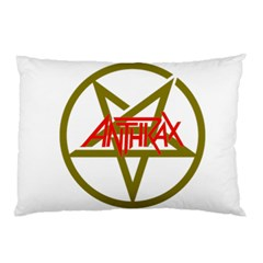 Anthrax Band Logo Pillow Case (two Sides) by Samandel