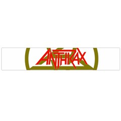 Anthrax Band Logo Large Flano Scarf  by Samandel