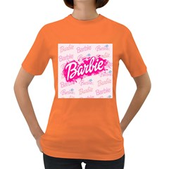 Barbie Pattern Women s Dark T Shirt