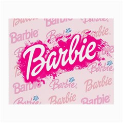 Barbie Pattern Small Glasses Cloth by Samandel