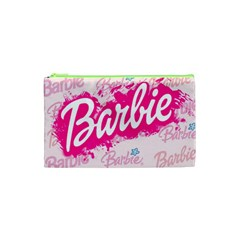 Barbie Pattern Cosmetic Bag (xs)