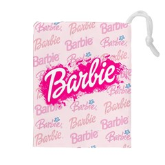 Barbie Pattern Drawstring Pouches (extra Large) by Samandel