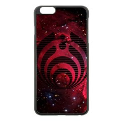 Nectar Galaxy Nebula Apple Iphone 6 Plus/6s Plus Black Enamel Case by Samandel