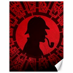 Book Cover For Sherlock Holmes And The Servants Of Hell Canvas 18  X 24