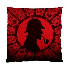 Book Cover For Sherlock Holmes And The Servants Of Hell Standard Cushion Case (one Side)