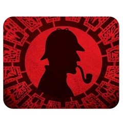 Book Cover For Sherlock Holmes And The Servants Of Hell Double Sided Flano Blanket (medium)
