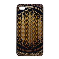 Tree Of Live Pattern Apple Iphone 4/4s Seamless Case (black) by Samandel
