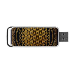 Tree Of Live Pattern Portable Usb Flash (two Sides) by Samandel